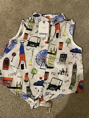 BNWT Girls age 5 - Next london blouse / top RRP £12