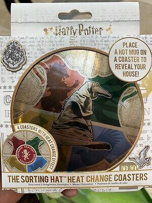 Harry Potter Heat Changing Place Mats New Unopened