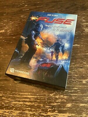 Fuse Game Will Self-Destruct In 10 Minutes Dice Board Game Renegade