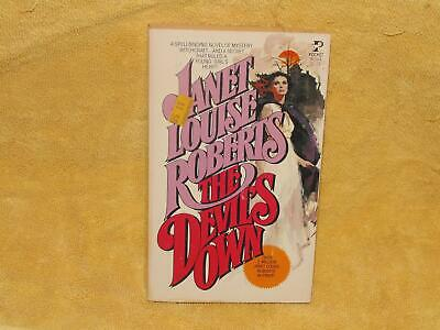 Vintage Janet Louise Roberts The Devils Own Gothic Romance