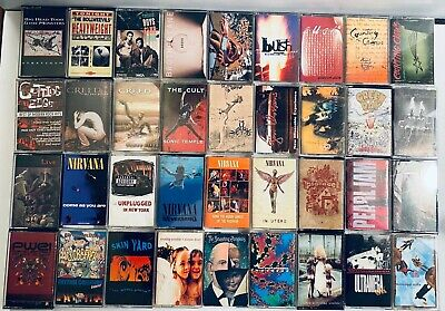 YOU PICK Tape Lot New Wave Alt Indie Grunge Punk Pop BULK SAVINGS + FREE SHIP