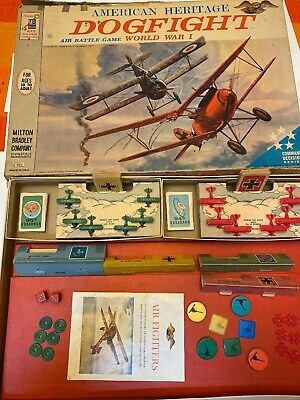 1963 Dogfight Board Game  - Vintage - American Heritage Series