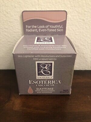 Esoterica Fade Cream Daytime 2.5 Oz with Moisturizers Exp 01/19