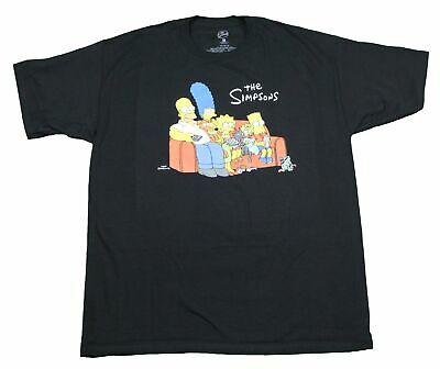 The Simpsons Movie Night Couch Bart Simpson Homer Marge Maggie Lisa 90s T-Shirt