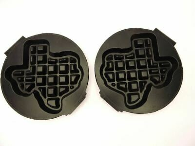 Carbon's RT-P Waffle Baker Maker Grid Plates Shape of Texas Replacement Set NEW