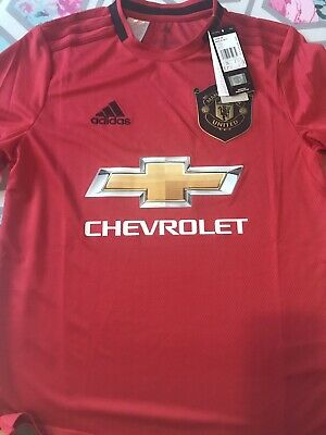 Manchester United Junior Home Top Age 13/14 Brand New With Tags