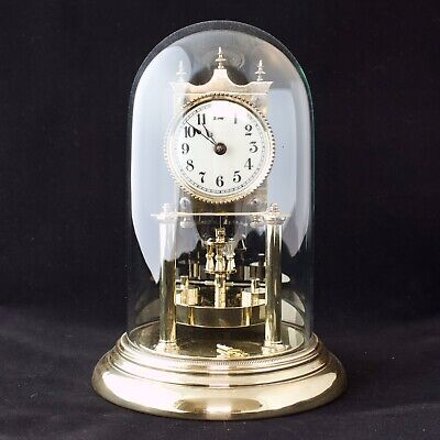 Rare Antique Jahresuhrenfabrik 400 Day Anniversary Torsion clock