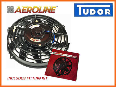 "Car Radiator Cooling Fan Push or Pull  12""  UNIVERSAL Aeroline®"