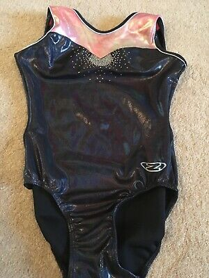"""Great Condition Gymnastics Leotard From Zone Size 30"""" Or Age 9-10"""