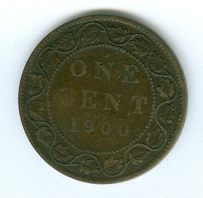 Canada 1900 Large Cent--Circulated