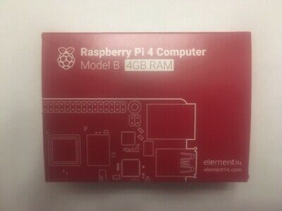 Raspberry pi 4, 4 GB and Freebies.
