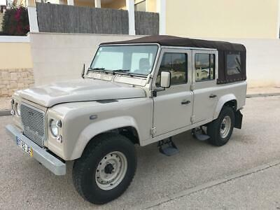 1997 Land Rover Defender 110 COUNTY STATION WAGON REBUILT 1997 DEFENDER 110 SOFTOP CAPACHINO BEIGE TAN LEATHER CHASSIS UP BUILD CANADA