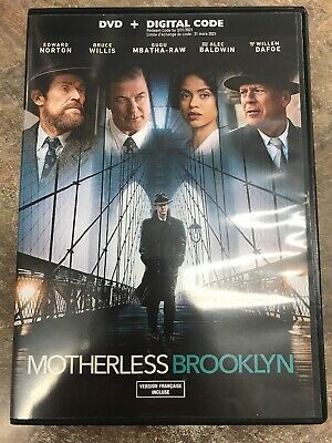 Motherless Brooklyn SD ** Canadian Digital Code **