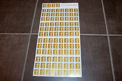 Royal Mail 100 x 1st Class Stamps - First Class Standard - Self Adhesive