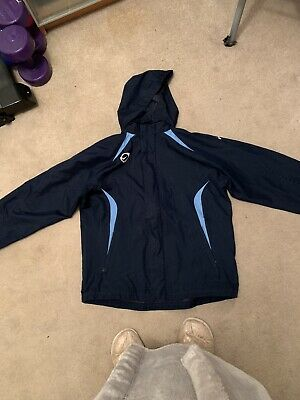 Boys Nike Full Zip Hooded Windcheater Jacket  100% Nylon Genuine Age 13-15.