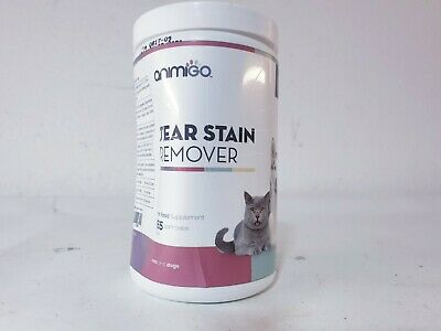 Animigo Tear Stain Remover Soft Chews - Internal Wellbeing Supplement For...