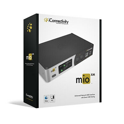 iConnectivity mioXM MIDI Interface, 4 channel, usb, ethernet