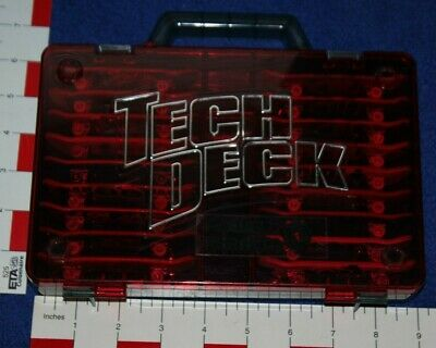 Tech Deck Fingerboard Skateboard Lot Of 18 With Storage  Carrying Case