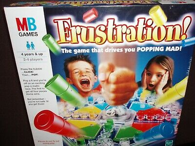 Vintage Frustration Board Game By MB Games 2000 Complete Boxed
