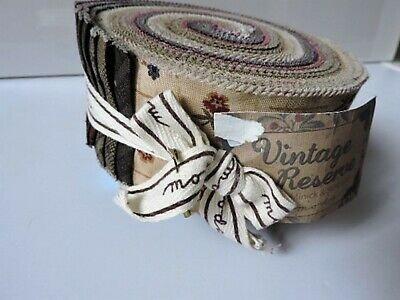 Moda Jelly Roll Vintage Reserve Fabric