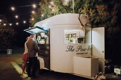 Business: THE POUR HORSE | Mobile Horse Float Bar Service for Weddings + Events