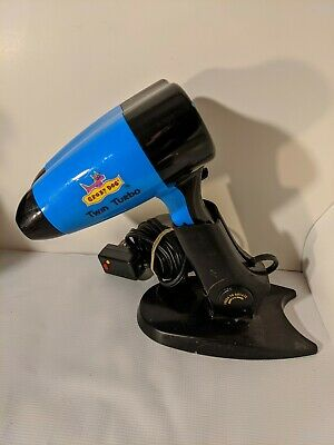 Crazy Dog Twin Turbo Hair Dryer - Double Barrel - 1875W - CD501 - Pet Grooming