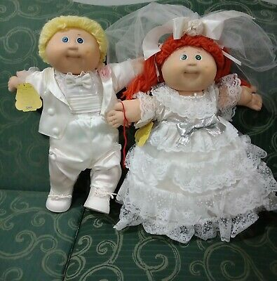Cabbage Patch Doll Wedding Set