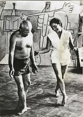 PICASSO dances w/. JACQUELINE, 1957 By DAVID DOUGLAS DUNCAN Orig. Vintage Photo