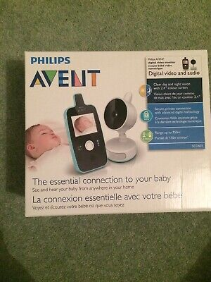 Philips Avent Digital Video And Audio Baby Monitor Boxed