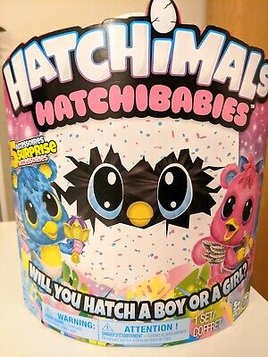Hatchimals Hatchibabies Ponette Chetree Baby Boy or Girl Collectible Egg Toy