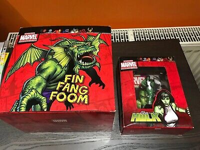 Classic Marvel Figurine Collection She Hulk FIN FANG FOOM Special Eaglemoss