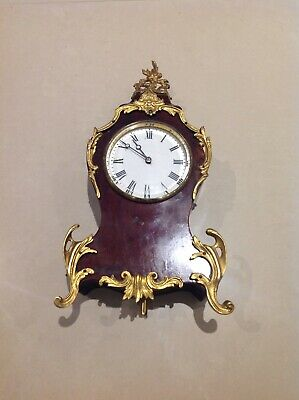 Antique French mantle clock not working stopped 8 years ago