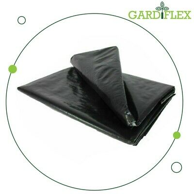5M X 5M Pond Liner for Garden Ponds LIFETIME Guarantee 200G/SM Black