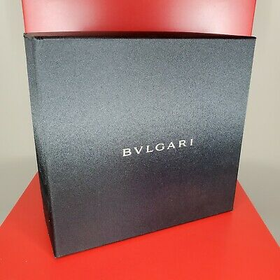 BVLGARI Le Gemme BV8141K Translucent Red 18K Gold Plated Edition 8141 Authentic