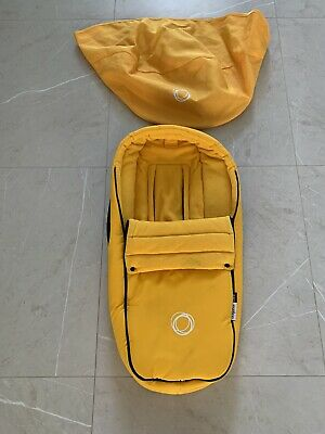 Bugaboo Bee Yellow Cocoon and Yellow Canopy