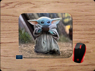 Baby Yoda Mousepad Mouse Pad Home Office Gift Star Wars The Mandalorian