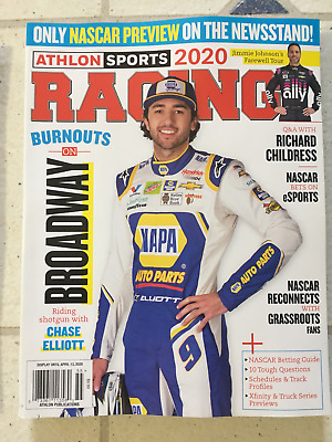 No Label RACING 2020 Preview ATHLON SPORTS Magazine 144 Pages CHASE ELLIOTT New