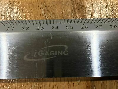 iGaging 600mm straight edge beveled precision ruler hardened steel