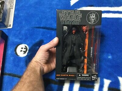 Star Wars Black Series 6 Inch Darth Maul Orange Wave