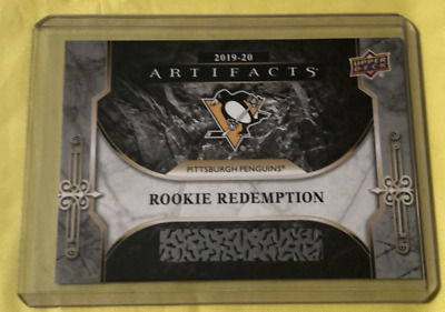 2019-2020 Artifacts Rookie Redemption Pittsburgh Penguins