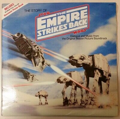 Star Wars Empire Strikes Back Vinyl Record with 16 page colour book. VERY RARE!!