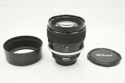"""EXCELLENT"" Nikon Ai-S Nikkor 85mm F1.4 MF Lens for F Mount #200110f"