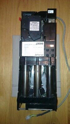 Vending Coin Change giving Mech, Jofemar J2000 with MDB bus and Motor Reject.