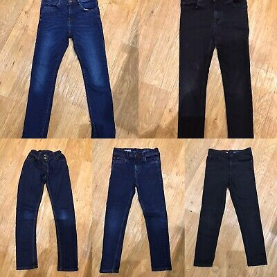 Boys Age 8 Skinny Jeans X 5 Pairs Bundle Immaculate Condition Next River Island