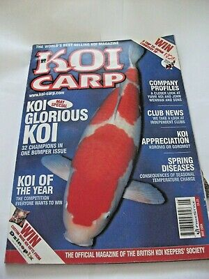 KOI CARP MAGAZINE -  May 2004