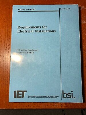 Requirements for Electrical Installations IET Wiring Regulations by The...