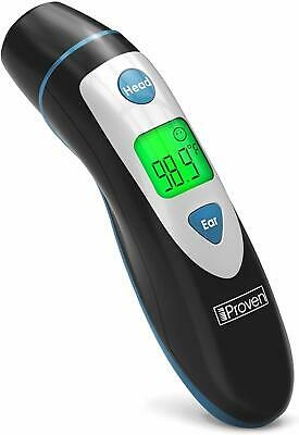 [New 2020 Model] iProven Thermometer for Fever - Forehead and Ear Thermometer -