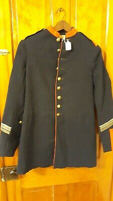 Indian Wars 1880'S Enlisted Mans Artillery Dress Coat With Service Stripes