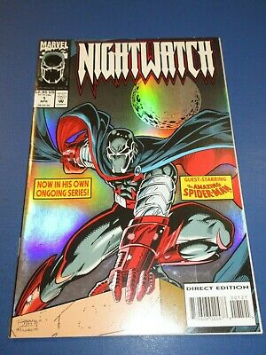 Nightwatch #1 Foil Cover FVF