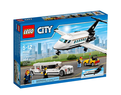 Lego 60102 City Airport VIP Service 364 pieces ~New & Lego Sealed~